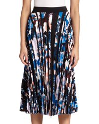 Elizabeth and James | Multicolor Caident Pleated Printed Skirt | Lyst