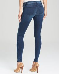 J Brand Blue Jeans - Stocking Maria High Rise Skinny In Suspense