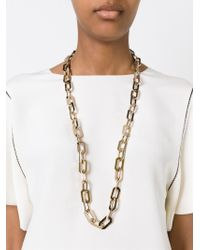 DSquared² - Metallic Chain Necklace - Lyst