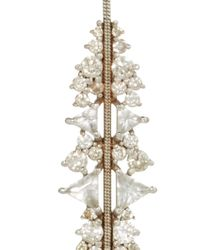 Fernando Jorge - White Diamond Opal Gold Electric Bolt Earrings - Lyst