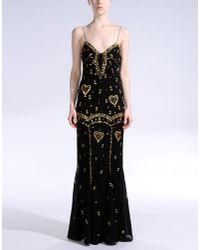 Dior Black Long Dress