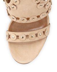 Aquazzura Natural Rebel Cadged Sandal