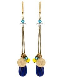 Isabel Marant | Blue Lucky Charm Earrings | Lyst