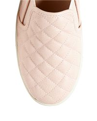 Steve Madden | Pink Ecentrcq Quilted Faux Leather Slip-ons | Lyst