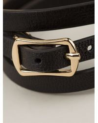 McQ | Black Razor Blade Bracelet | Lyst