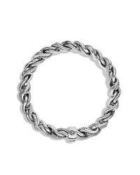 David Yurman - Metallic Woven Cable Bracelet for Men - Lyst