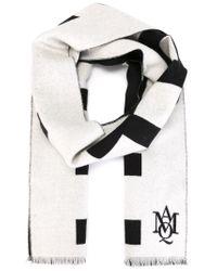 Alexander McQueen - Black Truth Knit Scarf for Men - Lyst