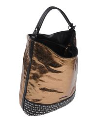Mugler Metallic Handbag