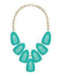 Kendra Scott | Blue Harlow Necklace | Lyst