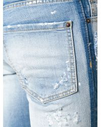 DSquared² Blue Slim Jeans for men