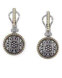 Effy - Metallic Balissima 18 Kt. Yellow Gold And Sterling Silver Drop Earrings - Lyst
