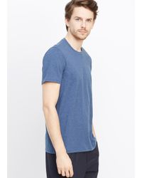 VINCE | Blue Favorite Jersey Crew Neck Tee for Men | Lyst