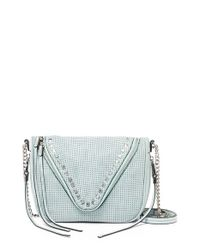 She + Lo | Green 'Make Your Mark' Leather Crossbody Bag | Lyst