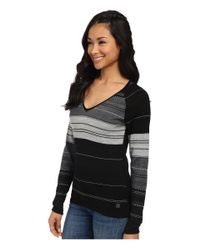 Smartwool | Black Sulawesi Stripe Pullover | Lyst