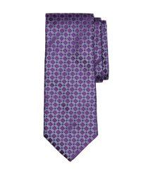 Brooks Brothers | Purple Four-dot Windowpane Tie for Men | Lyst