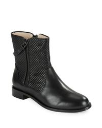 Matt Bernson | Black Axel Quilted Leather Ankle Boots | Lyst