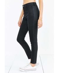 Native Youth | High-rise Skinny Jean - Black | Lyst