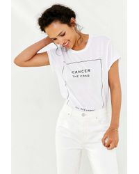The Laundry Room - White Zodiac Sign Tee - Lyst