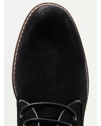 TOPMAN - Black Suedette Chukka Boots for Men - Lyst