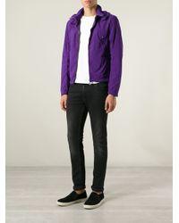 C P Company - Purple Goggle Hood Jacket for Men - Lyst