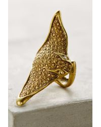 Alkemie - Metallic Manta Ring - Lyst