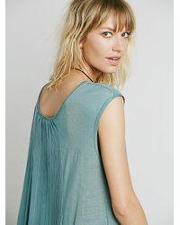Free People - Green Fp Beach Womens Always Dreamin Dress - Lyst