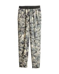 H&M Gray Loose-Fit Trousers