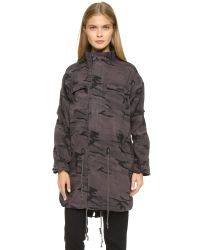 Capulet Brown Oversize Survival Jacket