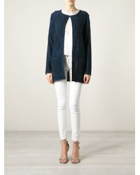 Avant Toi - Blue Washed Woven Jacket - Lyst