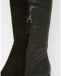 KG by Kurt Geiger Black Kg By Kurt Geiger Vanessa Leather & Suede Over The Knee Boots