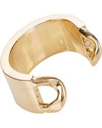 Maison Margiela Metallic Simple Cuff
