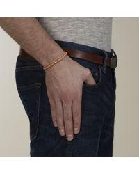 Lulu Frost - Orange G. Frost Wooden Morse Bracelet Beige for Men - Lyst