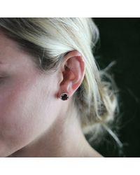 Dana Rebecca | Purple Anna Beth Smokey Quartz Stud Earrings | Lyst