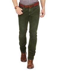 Polo Ralph Lauren | Green Varick Slim-straight Corduroy Pants for Men | Lyst