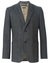 Marc Jacobs - Gray Prince Of Wales Check Blazer for Men - Lyst