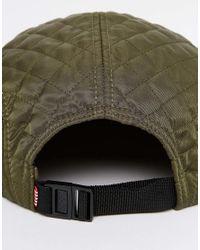 Herschel Supply Co. - Green Glendale Cap In Khaki for Men - Lyst