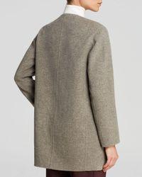 Theory Gray Coat Nyma Divide
