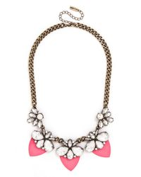 BaubleBar | Pink Paradise Persimmon Collar | Lyst