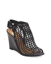 Vince Camuto Signature | Black Cleon Wedges | Lyst