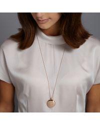 Astley Clarke - Pink 14k Rose Gold Large Astley Locket Necklace - Lyst
