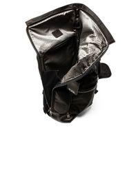 Tumi Brown Alpha Bravo Luke Roll-top Backpack