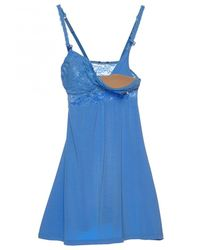 Cosabella | Blue Never Say Never™ Mommie™ Nursing Babydoll | Lyst