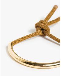 Maslo Jewelry | Metallic Gold Age Bracelet | Lyst