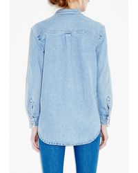 M.i.h Jeans - Blue Loose Shirt - Lyst