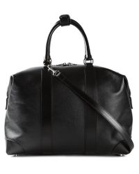 Saint Laurent - Black 'duffle 24' Hold-all for Men - Lyst