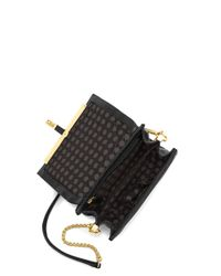 Vince Camuto | Black Leila Leather Shoulder Bag | Lyst