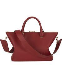 Chloé - Red Baylee Shoulder Bag - Lyst
