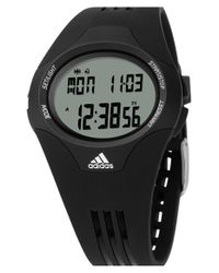 Adidas Black 'uraha' Digital Watch