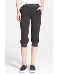 Atm Slim Capri Pants in Gray | Lyst