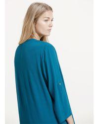 Violeta by Mango | Blue Chain Detail Dress | Lyst